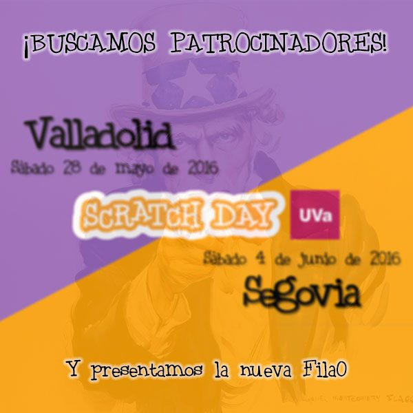 Patrocinadores Scratch Day UVa 2016