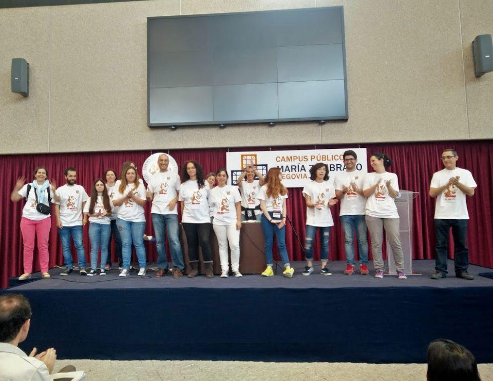 Scratch Day Segovia voluntarios