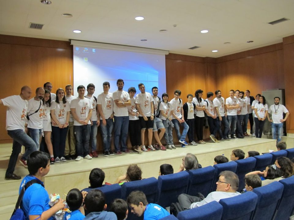 Voluntarios Scratch Day Valladolid