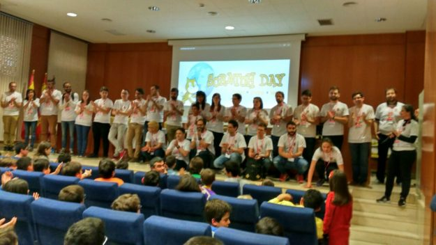 Scratch Day 2017 Valladolid Voluntarios